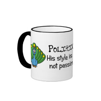Politicians are only concerned with appearances ringer mug