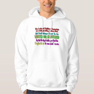 Politicians Spayed and Neutered Hooded Pullover