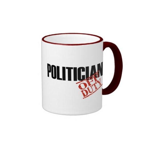 Político FUERA DE SERVICIO Taza De Café