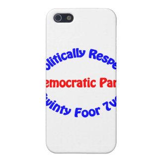 Político respecto - fiesta Democratic iPhone 5 Carcasa