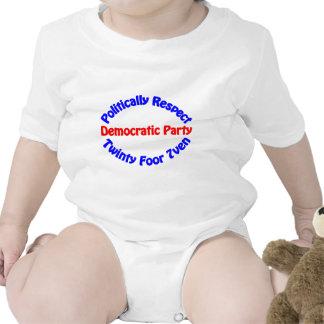 Político respecto - fiesta Democratic Trajes De Bebé