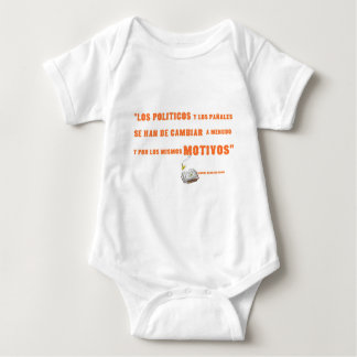 politicos baby bodysuit