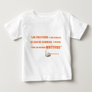 politicos baby T-Shirt