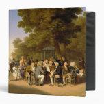 Políticos en los jardines de Tuileries, 1832