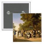 Políticos en los jardines de Tuileries, 1832 Pins