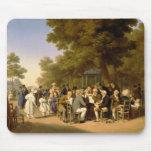 Políticos en los jardines de Tuileries, 1832 Tapete De Ratón