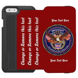 Politics Best Bet Go Direct to Customize Incipio Watson™ iPhone 6 Wallet Case