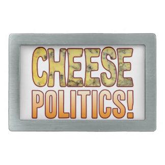 Politics Blue Cheese Rectangular Belt Buckle