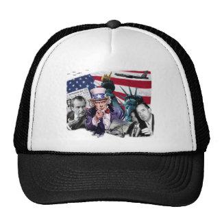 Politics Collage Trucker Hat