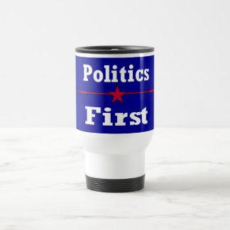 Politics First 15 Oz Stainless Steel Travel Mug