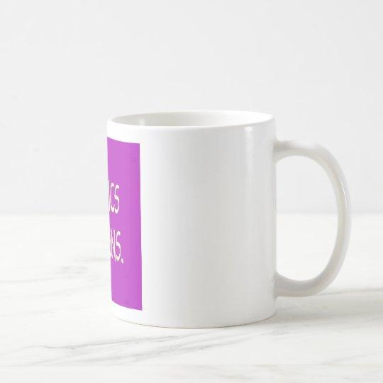 politics happens coffee mug