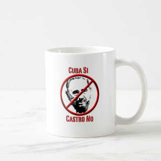 Politics - Intl - Cuba Si, Castro No Coffee Mug