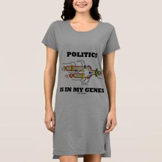 Politics Is In My Genes DNA Humor Dress