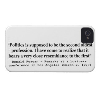 Politics is the Worlds Second Oldest Profession Case-Mate iPhone 4 Case