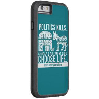 Politics Kills phone case