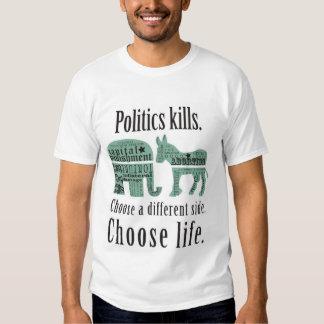 Politics Kills Tshirt 2XL