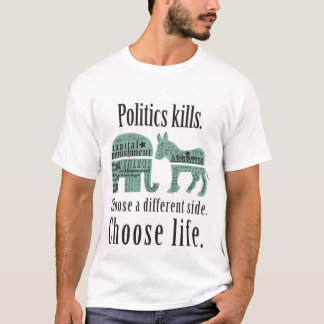 Politics Kills Tshirt 2XL
