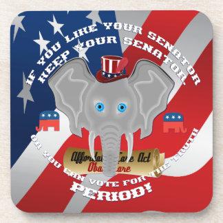 Politics Republican Beverage Coaster