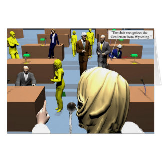 Politics - Senate - Yellow Pages Card