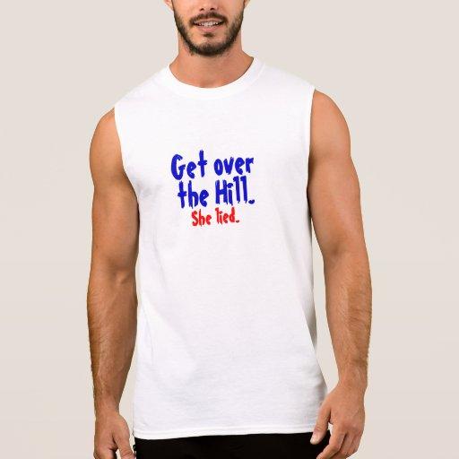 Politics Sleeveless T-shirts