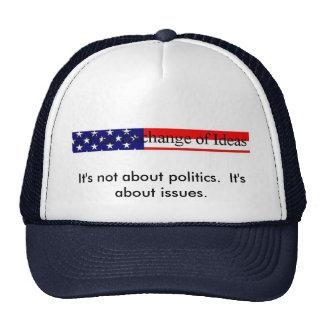 Politics versus Issues hat