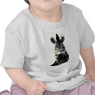 Polivinílico bajo animal africano principal de la camiseta