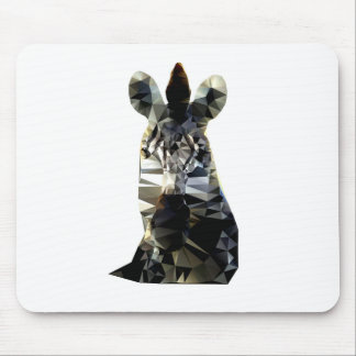 Polivinílico bajo animal africano principal de la tapete de raton