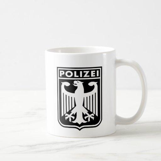 Polizei Classic White Coffee Mug