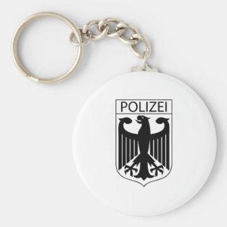 POLIZEI - German Police Symbol Gifts Keychain