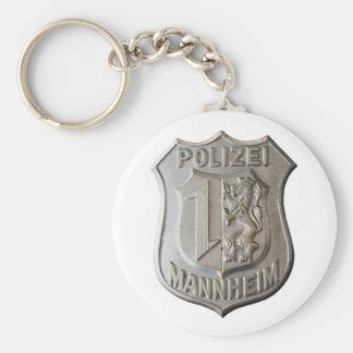 Polizei Mannheim Keychain