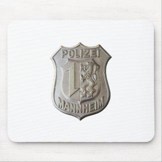 Polizei Mannheim Mouse Pad