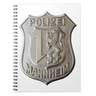 Polizei Mannheim Notebook