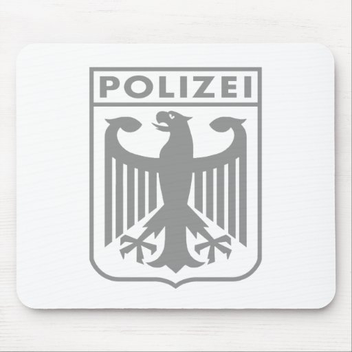Polizei Mouse Pad
