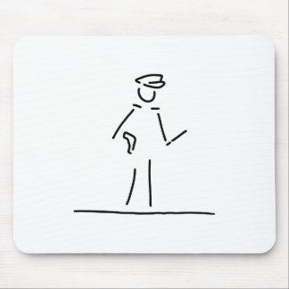 polizist polizei uniforme tapete de ratones