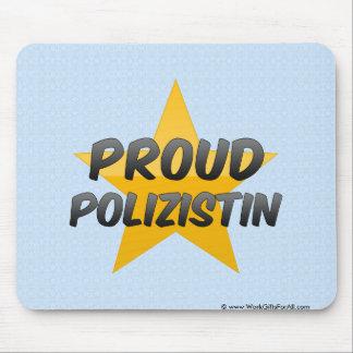 Polizistin orgulloso mouse pad