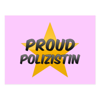 Polizistin orgulloso postales