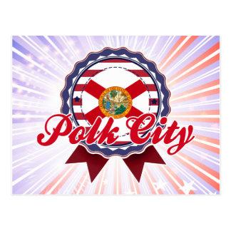 Polk City FL Postcard