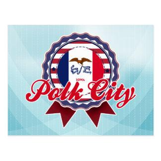 Polk City IA Post Cards