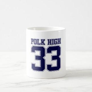 Polk High Bundy back Coffee Mug