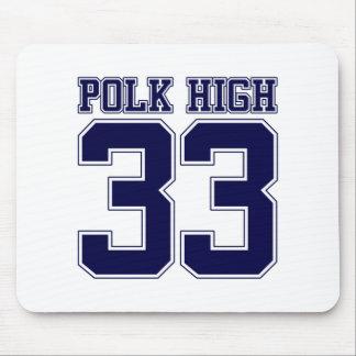 Polk High Bundy back Mouse Pad