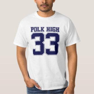 Polk High Bundy back Tee Shirt