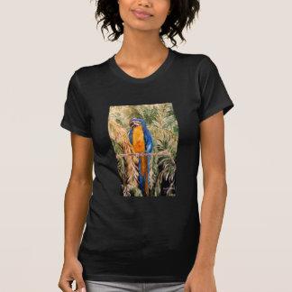 """""""Polk Parrots"""" Ladies Petite T-shirt"""