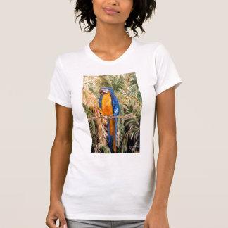 """Polk Parrots"" Ladies Twofer Sheer T-shirt"