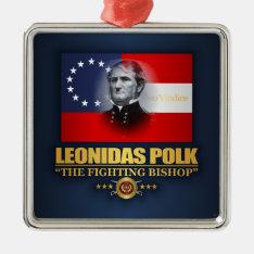 Polk (southern Patriot) Metal Ornament at Zazzle