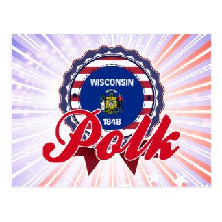 Polk WI Post Card