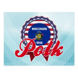 Polk WI Postcard