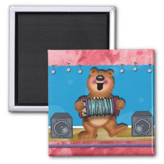 Polka Bear Magnet