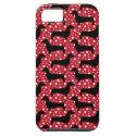 Polka Dachsund iPhone 5 Case