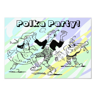 Polka Dance Party Invitations Any Fun Occasion