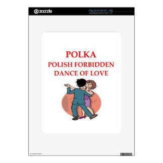 POLKA DECAL FOR THE iPad